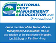 National Pest Control Management Association logo